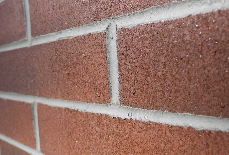 Water Repellent Concrete Masonry Wall Systems